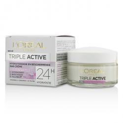 Triple Active Защитный Дневной Крем 24Ч Увлажнения - для Сухой/Чувствительной Кожи