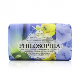 Philosophia Natural Soap - Collagen - Blue Azalea, Ambrosia Nectar & Starfruit With Vegetal Collagen & Ginseng