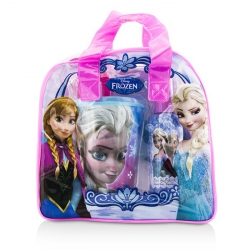 Disney Frozen Coffret: Eau De Toilette Spray 100ml/3.4oz + Plastic Cup with Straw + Bag