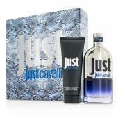 Just Cavalli Him (New Packaging) Coffret: Eau De Toilette Spray 90ml/3oz + Shower Gel 75ml/2.5oz