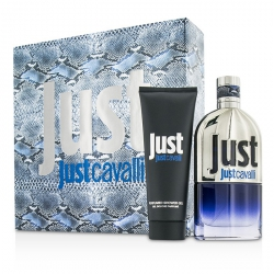 Just Cavalli Him (New Packaging) Coffret: Eau De Toilette Spray 90ml/3oz + Shower Gel 75ml/2.5oz