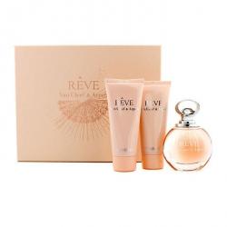 Reve Coffret: Eau De Parfum Spray 100ml/3.3oz + Body Lotion 100ml/3.3oz + Shower Gel 100ml/3.3oz