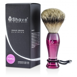 Finest Badger Long Shaving Brush - Purple
