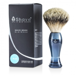 Finest Badger Long Shaving Brush - Blue