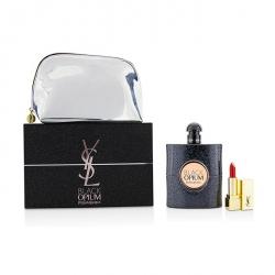 Black Opium Coffret: Eau De Parfum Spray 90ml/3oz + Mini Lipstick + Pouch