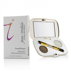 GreatShape Eyebrow Kit (1x Brow Powder, 1x Brow Wax, 1x Applicator)