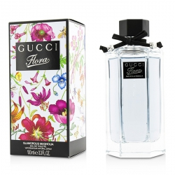 Flora by Gucci Glamorous Magnolia Eau De Toilette Spray (New Packaging)