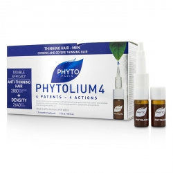 Phytolium 4 Chronic and Severe Anti-Thinning Hair Concentrate (For Thinning Hair - Men)