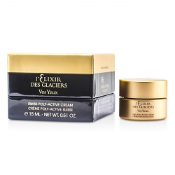 Elixir des Glaciers Vos Yeux Swiss Poly-Active Eye Regenerating Cream (New Packaging)
