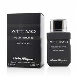 Attimo Black Musk Eau De Toilette Spray