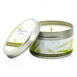 Eco-Luxury Aromacology Natural Wax Candle Tin - Zen (Green Tea & Cherry Blossom)