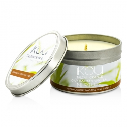 Eco-Luxury Aromacology Natural Wax Candle Tin - Nurture (Italian Orange Cardamom & Vanilla)