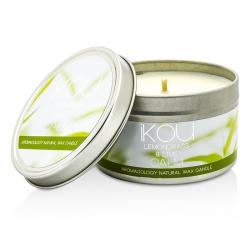 Eco-Luxury Aromacology Natural Wax Candle Tin - Calm (Lemongrass & Lime)