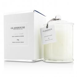 Triple Scented Candle - Santorini (Blue Jasmine & Hedera)