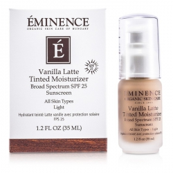 Vanilla Latte Tinted Moisturizer Broad Spectrum SPF 25 Sunscreen - Light