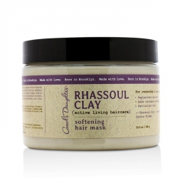 Rhassoul Clay Active Living Haircare Softening Hair Mask (For Overworked & Over-washed Hair)