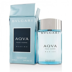 Aqva Pour Homme Marine After Shave Lotion (Box Slightly Damaged)