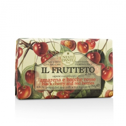 Il Frutteto Antioxidant Soap - Black Cherry & Red Berries