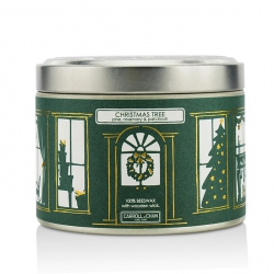 Tin Can Candle - Beeswax, Christmas Tree