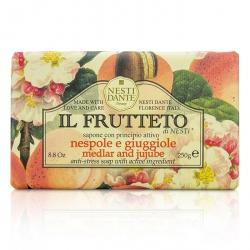 Il Frutteto Anti-Stress Soap - Medlar & Jujube
