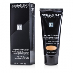 Leg & Body Cover Broad Spectrum SPF 15 (High Color Coverage & Long Lasting Color Wear)
