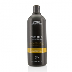 Invati Men Nourishing Exfoliating Shampoo - For Thinning Hair (Salon Product)