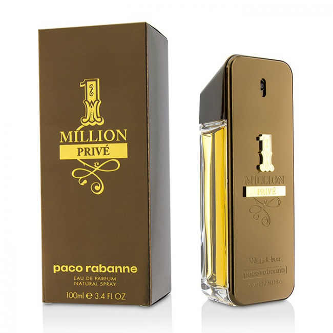 one million prive eau de parfum spray from paco rabanne to. Black Bedroom Furniture Sets. Home Design Ideas