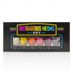 Outrageous Neons Mini Nail Lacquer Set