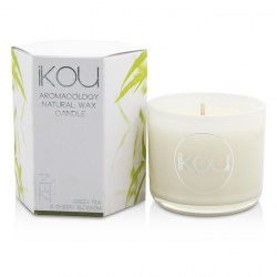 Eco-Luxury Aromacology Natural Wax Candle Glass - Zen (Green Tea & Cherry Blossom)
