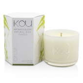 Eco-Luxury Aromacology Natural Wax Candle Glass - Calm (Lemongrass & Lime)