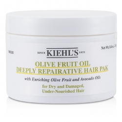 Olive Fruit Oil Deeply Repairative Hair Pak (For Dry and Damaged, Under-Nourished Hair)