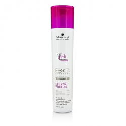 BC Color Freeze pH 4.5 Silver Shampoo (For Grey & Lightened Hair)