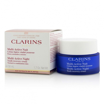 Multi-Active Night Youth Recovery Cream (Normal to Combination Skin)