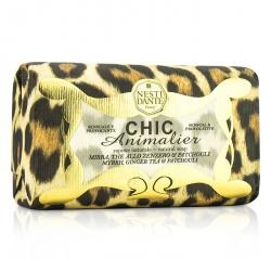 Chic Animalier Natural Soap - Myrrh, Ginger Tea & Patchouli