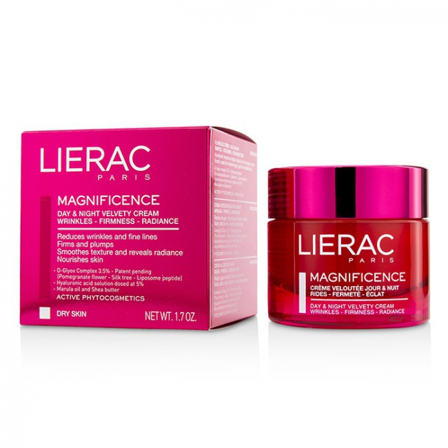 Lierac Magnificence Day & Night Velvety Cream (For Dry Skin)