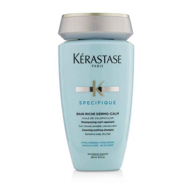 Kerastase Specifique Bain Riche Dermo-Calm Cleansing Soothing Shampoo  (Sensitive Scalp, Dry Hair)