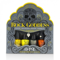 Rock Goddess Mini Nail Lacquer Set