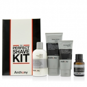 Logistics For Men The Perfect Shave Kit: Cleanser + Pre-Shave Oil + Shave Cream + After Shave Cream