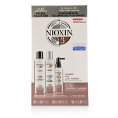 3D Care System Kit 3 - For Colored Hair, Light Thinning, Balanced Moisture