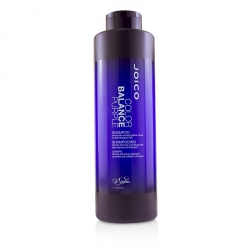 Color Balance Purple Shampoo (Eliminates Brassy/Yellow Tones on Blonde/Gray Hair)