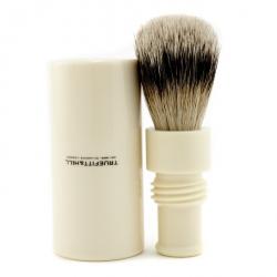 Turnback Traveler Badger Hair Shave Brush - # Ivory
