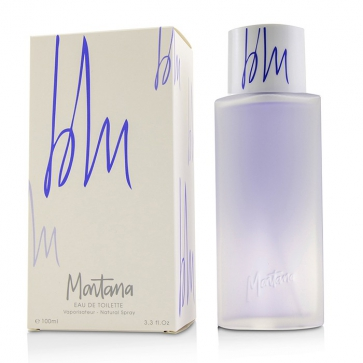 Montana Blu Eau De Toilette Spray