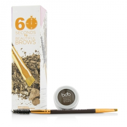60 Seconds To Beautiful Brows Kit (1x Brow Powder, 1x Dual Ended Brow Brush)