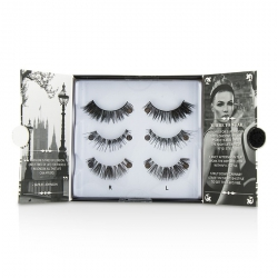 The London Edit False Lashes Multipack