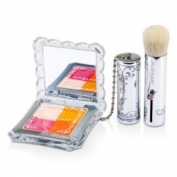 Mix Blush Compact N (4 Color Blush Compact + Brush)