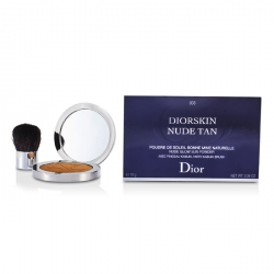 Diorskin Nude Tan Nude Glow Sun Powder (With Kabuki Brush)