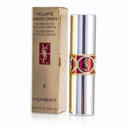 Volupte Sheer Candy Lipstick (Glossy Balm Crystal Color)