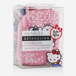 Compact Styler On-The-Go Detangling Hair Brush - # Hello Kitty Pink