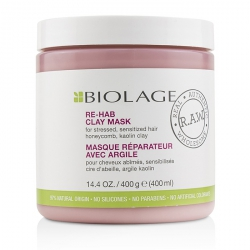 Biolage R.A.W. Re-Hab Clay Mask (For Stressed, Sensitized Hair)