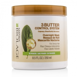 Biolage 3 Butter Control System Overnight Mask (For Unruly Hair)